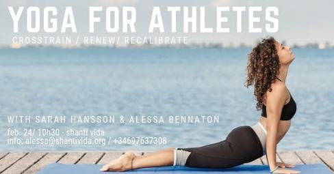 Yoga for athletes in Barcelona